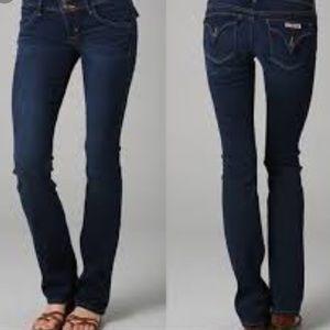 Hudson Beth Baby Bootcut Flap Pocket Jeans Sz. 28